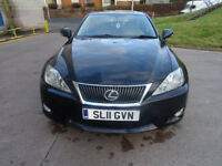 LEXUS IS 2.2 220D SE-I 4d 175 BHP NAVIGATION ++ LEATHER TRIM ++ FULL SERVICE RECORD ++ 2 KEYS