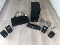 LG 5.1 surround sound cinema system