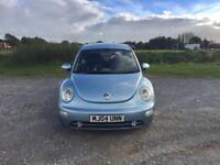 VW Beetle 2004 1.8t Long MOT and Low Miles for Age