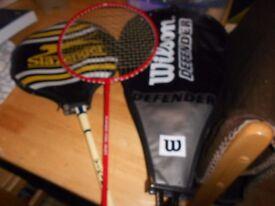 3 Badminton Racquets