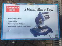 900W Electric Mitre Saw 210mm - Challenge