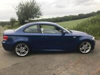 BMW 120d M SPORT COUPE 2009 LE MANS BLUE