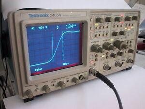 TEKTRONIX 2465A 350MHz OSCILLOSCOPE; Calibration,1 YR GUARANTY AVAILABLE @ extra