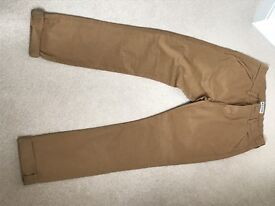 Boys chino trousers from Next. Tan, size15 yrs. never worn