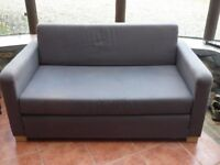 IKEA SOLSTA 2 SEATER GREY SOFA BED CAN DELIVER