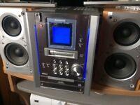 Panasonic SA PM25 stereo cd cassette