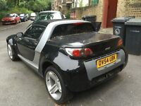 2004 54 SMART ROADSTER AUTO BLACK/SILVER - SUDDENLY NOT STARTING