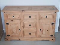 5 Drawer and 2 Door Sideboard