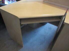Corner desk + cabinets