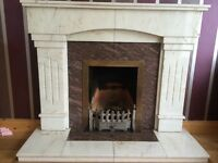 Marble fireplace for sale