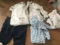 Baby clothes job lot / bundle / car boot - 50 items