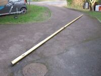 4 alloy masts & 2 alloy booms for yacht or dinghy