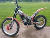 Gasgas txtpro 250 trials bike