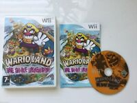 Wii GAMES: Mario WARIO LAND / Super Smash Bros Brawl / Donkey Kong / Lego Star Wars Complete Saga