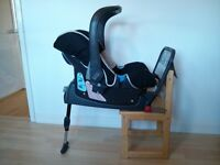 Britax Baby-Safe plus SHR car seat and ISOFIX Base 0-13kg -£50 ONO