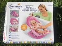 Deluxe baby bather seat