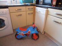 spiderman bike in excellent condition