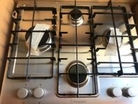 Hotpoint gas hob sliver