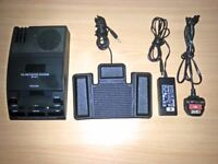 Philips 720 Executive Mini Cassette Transcriber Transcription System LFH720