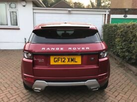 £22,500 Land Rover Range Rover Evoque 2.2 SD4 Dynamic Hatchback AWD 5dr Top Spec and Sports Seats