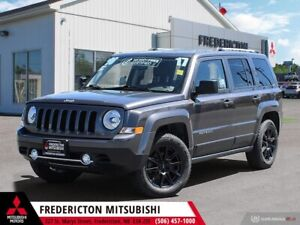 2017 Jeep Patriot 4X4 | REDUCED | HEATED LEATHER | SUNROOF