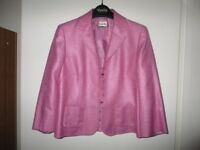 VIYELLA LADIES PINK JACKET - Ideal for Weddings and other Formal Occasions.