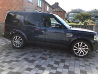 """LandRover Discovery 4 20"""" Alloys with Tyres"""