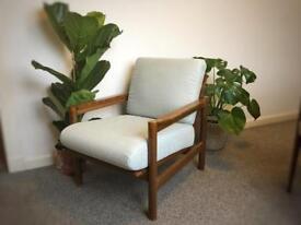 Retro/vintage Danish style armchair