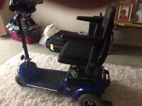wispa mobility scooter like new hardly used recent new battery excellent condition