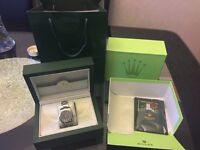 Rolex Milgauss automatic watch.