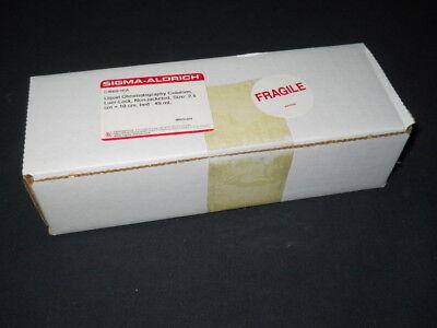 New Sigma 49ml Fritted Luer Lock Chromatography Column 2.5cm Id X 10cm C4669