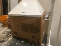Stoves 60cm cooker hood extractor fan - brand new