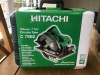 Hitachi C7SB2 circular saw 240v brand new
