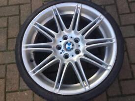 """GENUINE 19"""" REAR BMW MV4 225M M SPORT ALLOY wheel"""