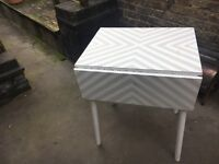 Foldable table 70s kitchen diner chic shabby