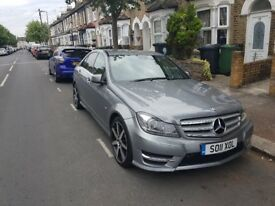 Mercedes-Benz C Class 2.1 C220 CDI BlueEFFICIENCY Sport 7G-Tronic 4dr - FACELIFT - AMG - W204