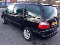 2002 Ford Galaxy Black 1.9 Zetec TDi 7 Seat 6 Speed Diesel - Great Runner, Reliable, Good Condition