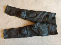 ARD ladies leather trousers size 12 and 16