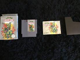 TEENAGE MUTANT NINJA TURTLES ARCADE GAME-NINTENDO ENTERTAINMENT SYSTEM NES VERSION