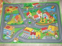 kids road rug (new)