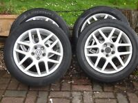 VW GOLF Alloy wheels and tyres
