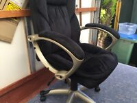 Office/Computer chair, Kashmir executive type REDUCED TO CLEAR !