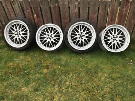 BBS wheels good condition sale or swap motorbike £450