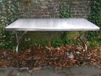 Tressle Table Stainless Steel