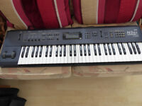 Korg N5ex keyboard synthesiser, fully working, lovely condition, mains lead and bag