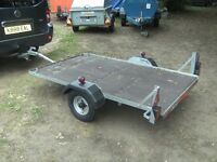 TRAILER 6FT-6IN X 4FT FLATBED ......