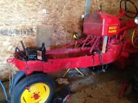 All old Massey tractor Fans