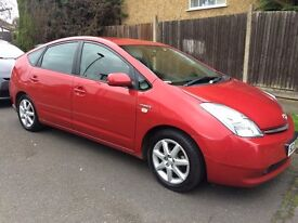 Toyota Prius T-SPIRIT 2008 Reg RED Full Toyota History HPI CLEAR £4,395 LEATHER,124k MILES