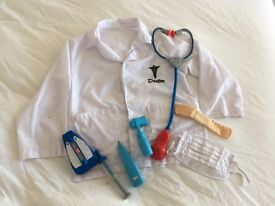 Children's Doctor outfit age 3-6 years