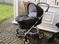 mammas pappas sola pram buggy with carry